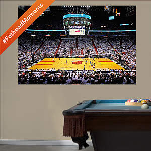 Miami Heat 2012 NBA Finals Stadium Mural Fathead Wall Decal